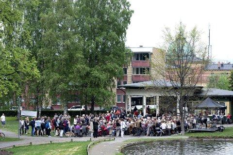 ÆREFULLT: Unesco-organisasjonen har tatt Lillehammer med i nettverket av litteraturbyer. Litteraturfestivalen i Lillehammer er viktig for avgjørelsen.