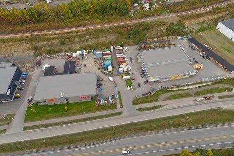 SOLGT: 51 millioner kroner ble næringseiendommen nord for Lillehammer kjøpt for. Lillehammer Næringsutvikling AS er kjøper.