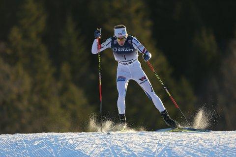 Espen Andersen gikk forrykende i langrennet i kombinert verdenscup på Birkebeineren Skistadion.
