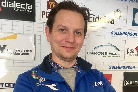 Marius Langlo (40) skal ha det overordnede sportslige ansvaret for barnefotballen i Lillehammer FK.