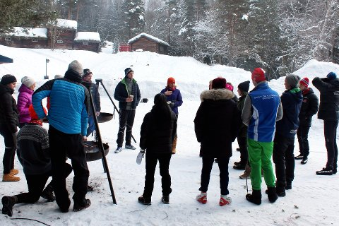 Studenter fra førsteåret Idrettsvitenskap ved Høgskolen i Innlandet avdeling Lillehammer satte foran denne helgen opp sitt tredje skileikanlegg. Det samme anlegget skal brukes under Barnas vinterdag på Maihaugen søndag.
