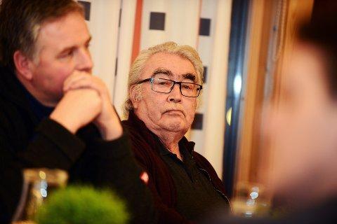 Veteran: Ap-veteran i Vågå, Magnus Løkken, reagerte på forslagene som kom inn til årsmøte i Vågå Ap torsdag kveld. Fraksjonspolitikk, mente han. Foto: Einar Almehagen