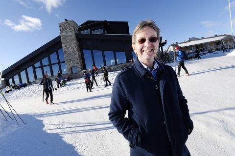 Jon Lunke er leder for Pellestova og er fornøyd med hva naboen Hafjell planlegger for neste år.