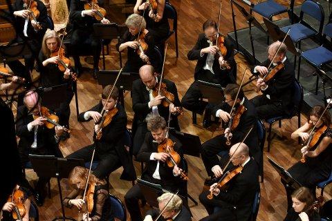 FILHARMONIEN TIL MJØSA: Oslo-Filharmonien, her i Maihaugsalen 6. januar i år, skal spille utendørs i Ringsaker 11. august.