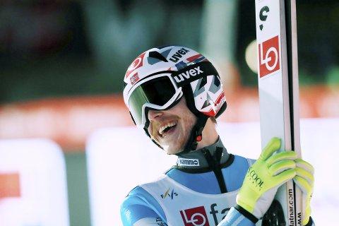 BEST: Robert Johansson var best av de norske med et hopp på 232 meter. e