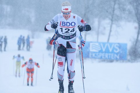 Morten Eide Pedersen ble nummer fire i La Sgambeda.