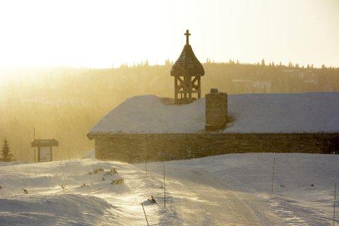 Venabygd fjellkapell ble tegnet av Odd Østbye og innviet av biskop Georg Hille i 1979. Det er bygget i tradisjonell byggeskikk i betong, stein og tre, med lav høyde.