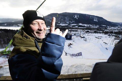 Henning Andersen er strålende fornøyd etter nyheten om at arrangementet nå er inne på statsbudsjettet.