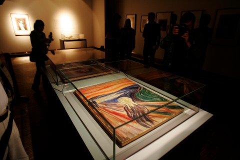 """""""Jeg vet ikke hvor lang tid Munch faktisk brukte på å male Skrik, men ingen arbeidsgiver i verden ville være i stand til å betale den timelønna bildet faktisk er verdt."""""""