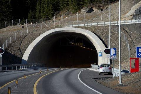Øyertunnelen åpnet for trafikk 12. desember i 2012. Nå må den snart utvides med et løp til fordi trafikken er i ferd med å passere 8.000 kjøretøy per døgn.