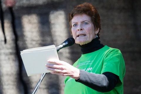Reagerer: Leder Merete Furuberg i Bonde- og småbrukarlaget sier det går sterkt inn på henne at motstandere i ulvedebatten skriver de ønsker hun får tilbakefall av kreft. Foto: NTB scanpix