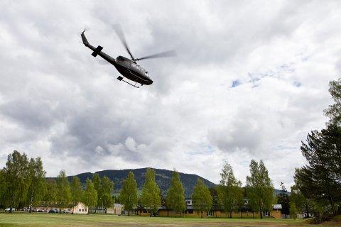 Flys inn: Opp mot 1.000 Nato-soldater vil ha Jørstadmoen som sin base under øvelsen.Foto: Forsvaret