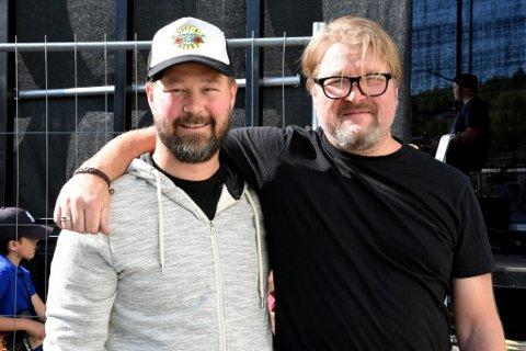 ARRANGØRER: Roy Bjarne Moen og Brede Vestby er blant dem som står bak arrangementet.