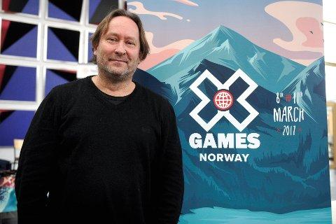 IGJEN: Henning Andersen står bak X Games i Norge. Etter arrangementet i 2017, kommer nå X Games tilbake til Hafjell for å teste ut hoppet til arrangementet i Oslo til våren.