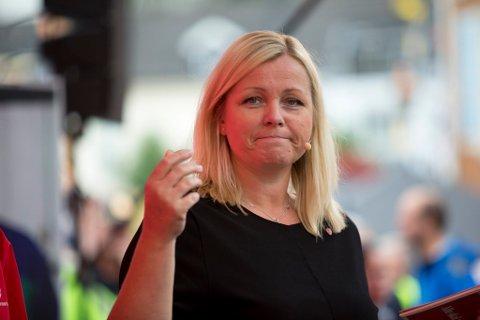 Partisekretær i Arbeiderpartiet Kjersti Stensen. Foto: Torstein Bøe / NTB scanpix