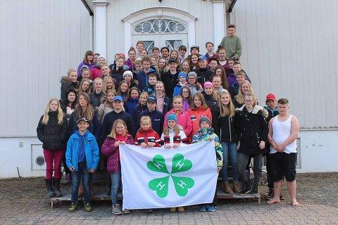 4H: Denne gjengen fra ulke lag i Oppland ønsker flere velkomne i klubben. Foto: 4H