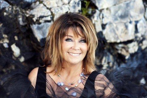 AVLYSTE: Wenche Myhre mistet stemmen og kunne gjennomføre konserten sin i Tønsberg. Pressefoto
