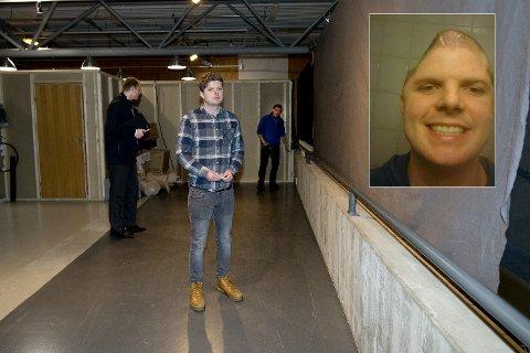 MILLIONER?: Det kan være snakk om millioner i erstatningskrav fra Andreas Strøm etter at han ble skadd for livet etter et fall på Norsk vegmuseum ved Hunderfossen for snart fire år siden.