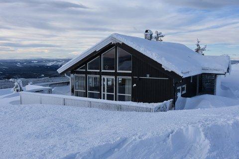 PARADISET: Dette er Therese Johaugs drømmehytte på Sjusjøen.