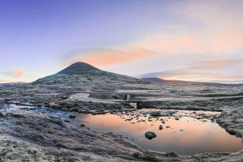 Billedkustner Tøri Gjendal fotograferer Venabygdsfjellet i alle årstider. Resultatet skal bli en bok.