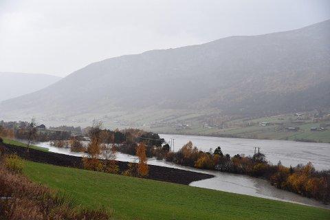Meteorologisk institutt mener det kommer sparsomt med nedbør de nørmeste dagene.