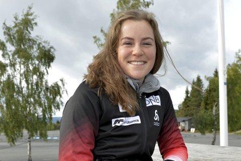 ANGREP: Sigrid Bilstad Neraasen avsluttet sesongen med to bronsemedaljer i NM, men løperen fra Åsmarka føler seg likevel i en angrepsposisjon foran årets sesong.
