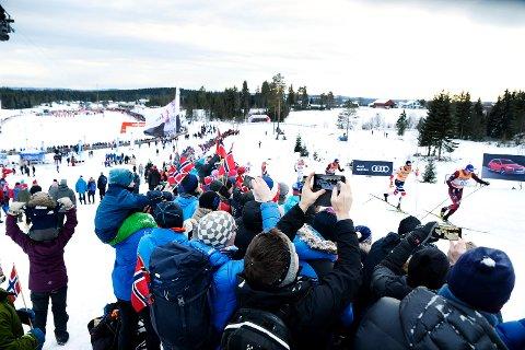 VERDENSCUPAVSLUTNING: Lillehammer kjemper mot Russland om å få verdenscupavslutningen i langrenn i mars.