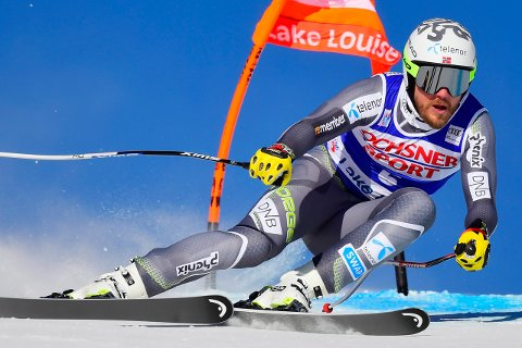 TIL TOPPS IGJEN: Kjetil Jansrud vant i Lake Louise.