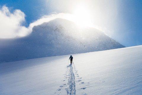 ØKT SNØSKREDFARE: Hurrbrean i Jotunheimen. (illustrasjonsfoto)