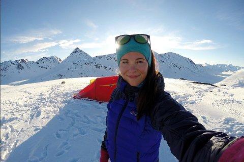 Fotostudenten Live Andrea Sulheim legger ut fjellbilder til inspirasjon på sin Instagram-konto. Der har hun nær 11.000 følgere.