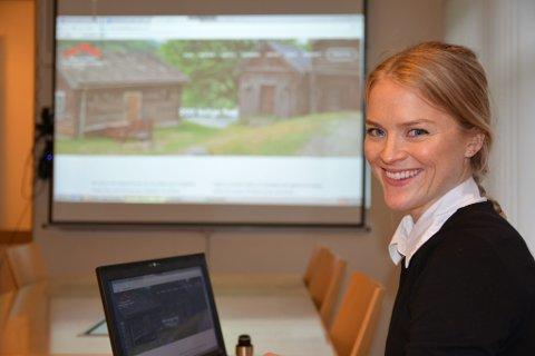 Prosjektleiar Ida Amble Ruge legg fram over 160 ledige stillingar.