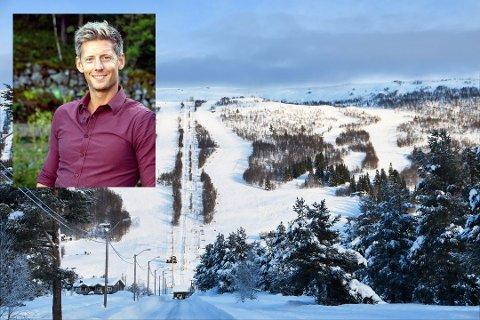 SOLGT HYTTE: Farmen-kjendis, Gaute Grøtta Grav, har solgt familiehytta på Bjorli med en god fortjeneste.