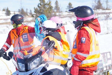 HJELP: Røde Kors har i løpet av de første dagene i påskeferien hjulpet 33 skadde personer.