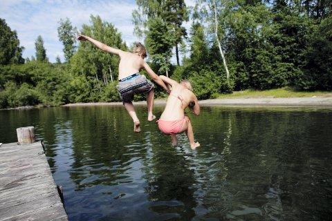 SOMMERFERIE: – Alt trenger ikke planlegges så nøye, sier Ane Solstuen om sommerferieaktivitetene.