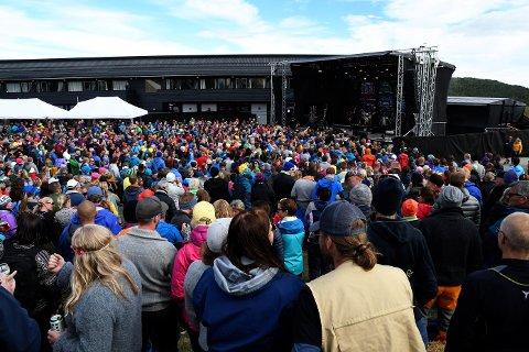 Fra Rondaståk på Kvamsfjellet i 2018 . I 2022 arrangeres festivalen på Gålå.