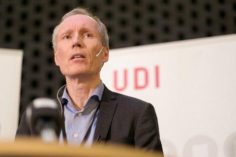 SVART ARBEID: UDI-sjef Frode Forfang peker på svart arbeid som motiv for migranter.