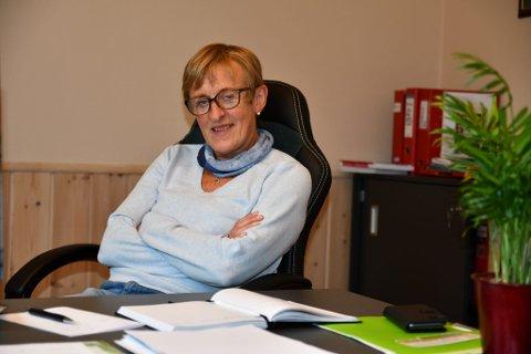 Bjørg Vole i Opplæringskontoret Brimi-kjøken.