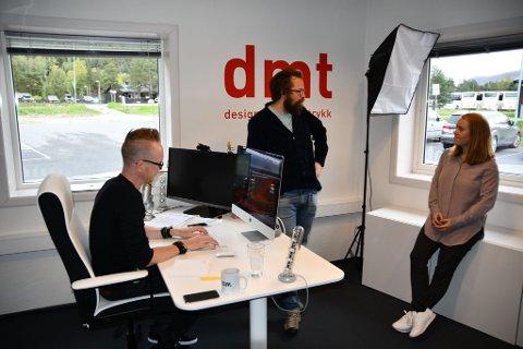Tormod Sperstad, Edvard Mølmen og Hilde Kielland Mølmen har arbeid der de helst vil bo.