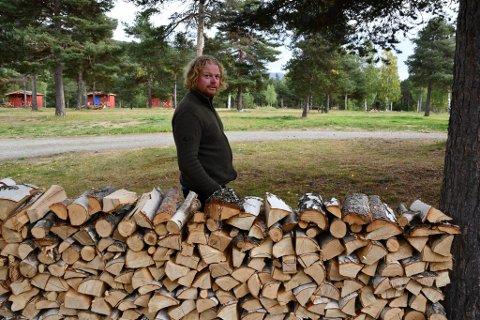 Jostein Strøm og Inga Gudrun Hyrve satsar på berekraftig campingplass i Skjåk.