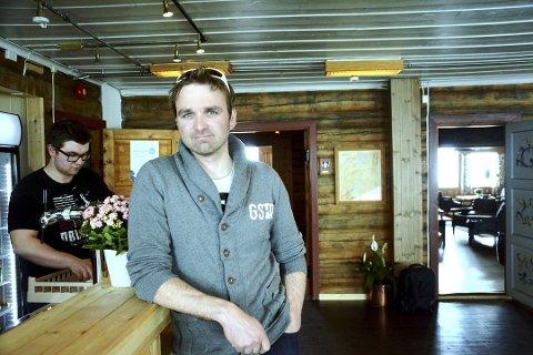 GODT ÅR: Sognefjellshytta og eier Råmund Mundhjeld har aldri hatt så mange gjester innom dørene som i fjor.