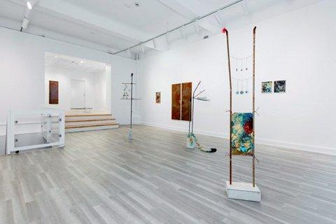 I LILLEHAMMER: Linda Lerseth stiller ut i Elephant Kunsthall fra 7. september. Bildet er fra en tidligere utstilling.