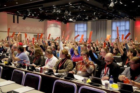 Ap-pine: Et klart flertall i Fellesforbundet ønsker å utrede alternativer til EØS-avtalen.