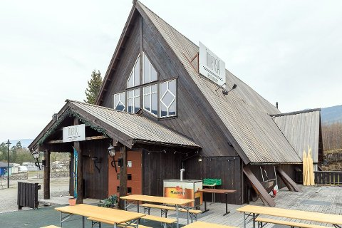Restaurantbygning gis bort mot henting.
