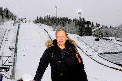 Roar Olsen er ny sjef for verdenscupen på Lillehammer. - Det har vært mye å sette seg inn i, sier han.