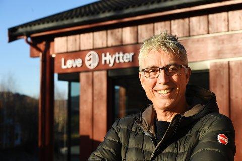LYKKES MED HYTTER: Leve Hytter med daglig leder Arve Noreng lykkes med sine hyttemodeller. I fjor solgte han og kollegene selskapet. Det gjorde Noreng til fylkets og Lillehammers største skatteyter etter en nettoinntekt på 33,9 millioner kroner.