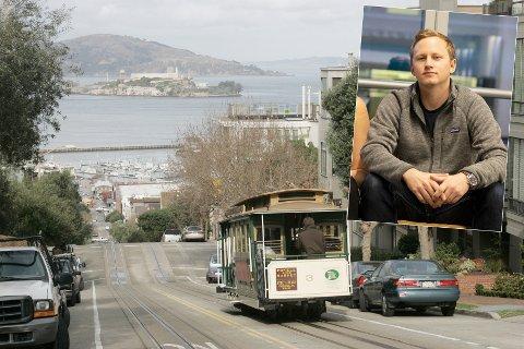 I teknologiens høyborg San Francisco, jobber Eivind Solbakken i selskapet Megacool, som er startet av norske gründere.