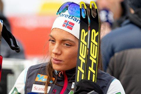 VIL HA EGET SPRINTLAG: Talentet Kristine Stavås Skistad.