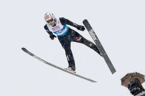 Robert Johansson satte bakkerekord i Holmenkollen lørdag.
