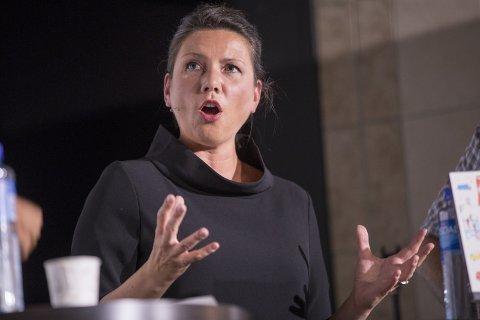 VIKTIG: Heidi Nordby Lunde, leder i Oslo Høyre, utfordrer Erna Solberg om ulikhet. Foto: Terje Pedersen, NTB scanpix