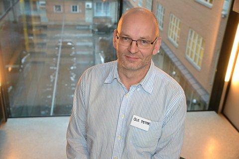 BYGGER FELLES KULTUR: FAU-leder Ole Petter Østerbø sier at de forsøker å finne gode løsninger som bygger felles kultur på Jørstadmoen Skole.